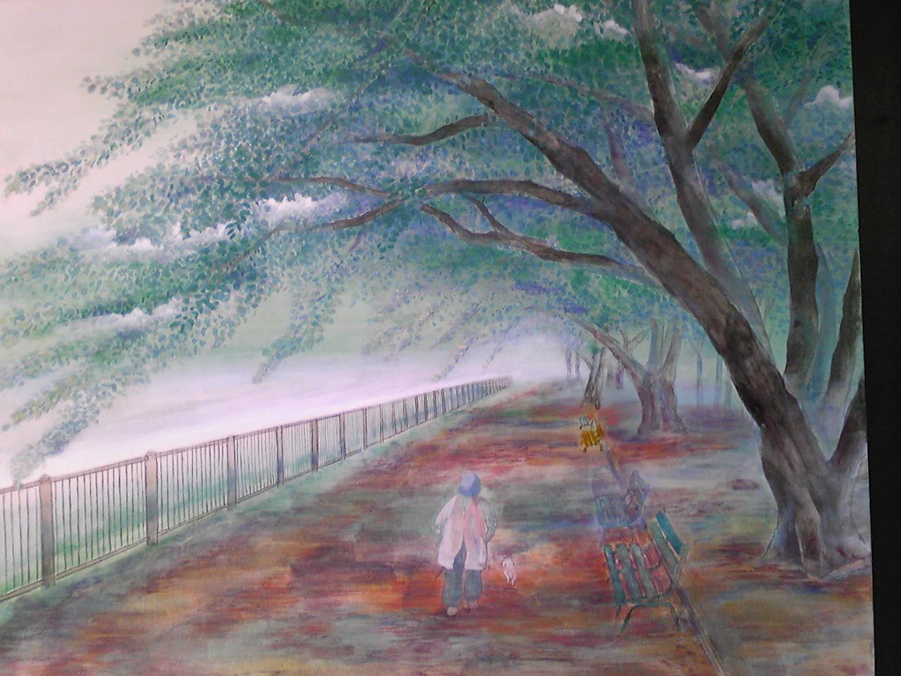 緑の桜 3